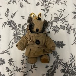 Burberry thomas bear keychain
